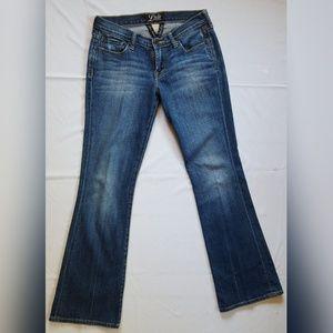 lucky Brand women's  boot cut 25 sweetNlows jeans
